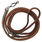AKAH Moose Leather Sling leash brown